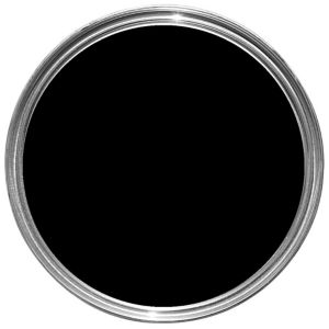 Image of Hammerite Smoothrite Black Gloss Metal paint 5L