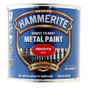 View Hammerite Red Gloss Metal Paint 250ml details