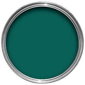 Image of Hammerite Dark green Gloss Metal paint 0.25L