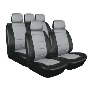 View Sakura Spark Black Universal Fit Full Seat Cover Set details