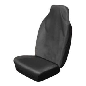 View Sakura Black High Back Heavy Duty Seat Cover details