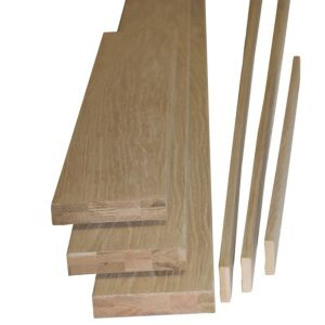 View Oak Veneer Internal Door Lining Set, (H)2m (W)150mm details