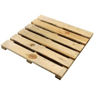 View B&Q Green Softwood Deck Square (W)450mm (L)450mm (T)56mm details