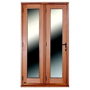 View Freedom 1 Lite Clear Glazed External Folding French Door, (H)2009mm (W)1190mm details