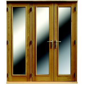View Freedom 1 Lite Clear Glazed External Folding French Door, (H)2009mm (W)1490mm details