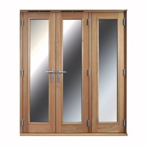 View 1 Lite Clear Glazed External Folding French Door, (H)2009mm (W)1790mm details