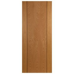View Valehouse Ash Veneer Timber External Front Door, (H)2032mm (W)813mm details