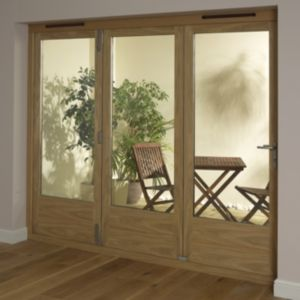 View Timber Glazed Folding Patio Door, (H)2009mm (W)1790mm details