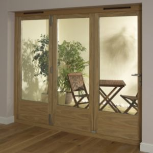 View Timber Glazed Folding Patio Door, (H)2009mm (W)2390mm details