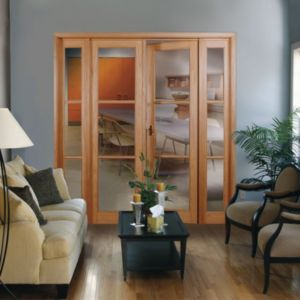 View Veneer Internal French Door Frame Set, (H)2000mm (W)2424mm details