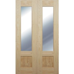 View Pine French Door Pair Maker details