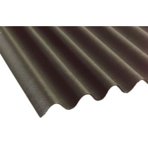 View Black Bitumin Roofing Sheet 2m x 900mm details