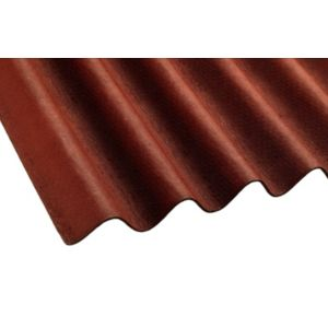 View Red Bitumin Roofing Sheet 2m x 900mm details