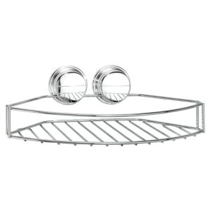 View Croydex Twist 'N' Lock Plus Chrome Effect Steel Storage Basket details