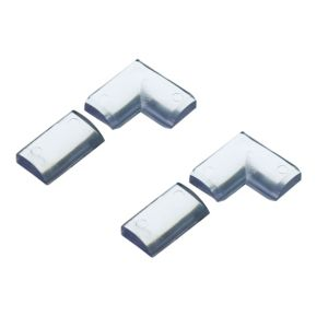 View Homelux PVC Clear Bath Seal Finishing Pack (L)1.75m details