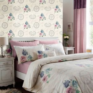 View Chartwell Francelina Multicolour Floral Double Bed Cover Set details