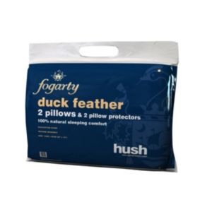 Fogarty Hush Pillow Pack Of 2 Departments Diy At B Amp Q