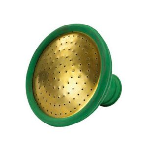View Sankey Green Rubber with Brass Face Watering Can Rose details