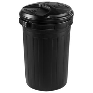 View Sankey Black Dustbin details