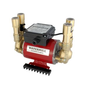 View Watermill 3 Twin Impeller Regenerative Shower Pump (H)265mm (W)220mm (L)340mm details