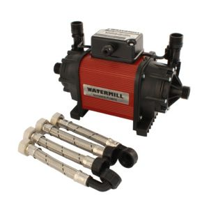 View Watermill 1.5 Centrifugal Shower Pump (H)190mm (W)220mm (L)340mm details