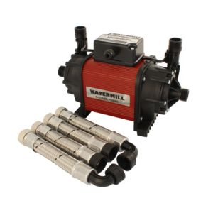 View Watermill 2 Centrifugal Shower Pump (H)190mm (W)220mm (L)340mm details