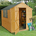 8X6 Apex Shiplap Wooden Shed