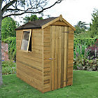 6X4 Apex Tongue & Groove Wooden Shed