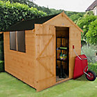 8X6 Apex Shiplap Wooden Shed Base Included Best Price, Cheapest Prices