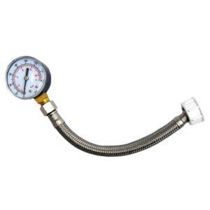 Image of Rothenberger 0-10 Bar Water Pressure Gauge (L)185mm