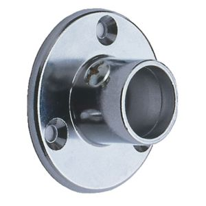 View Colorail Chrome Effect Rail Socket (Dia)25mm, Pack of 2 details