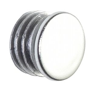 View Colorail Plastic Chrome Effect End Cap, Pack of 2 details