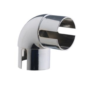 View Rothley 90° Chrome Effect Elbow (Dia)40mm details
