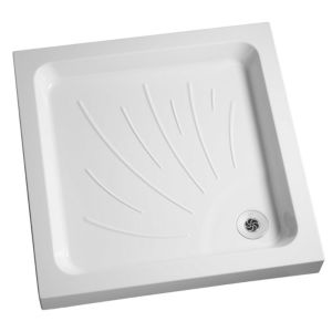 View Mira Flight Square Shower Tray & Riser Kit (W)800mm (D)800mm details