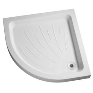 View Mira Flight Quadrant Shower Tray & Riser Kit (W)900mm (D)900mm details
