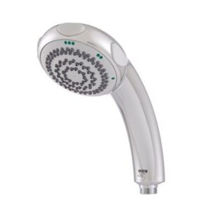 View Mira 3 Spray Mode Chrome Effect Shower Head details