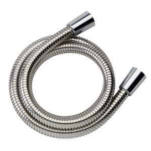 View Mira Chrome Effect Stainless Steel Shower Hose 250mm details