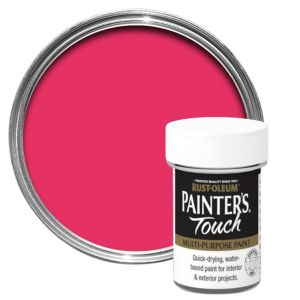 RustOleum Painters Touch Interior & Exterior Baby Pink Gloss Multipurpose Paint 20ml