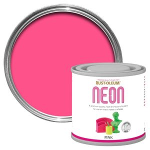 Rust-Oleum Pink Matt Neon paint 125 ml