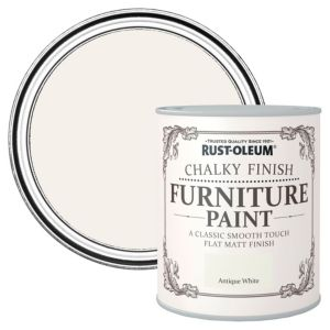 RustOleum Antique White Flat Matt Furniture Paint 2.5L