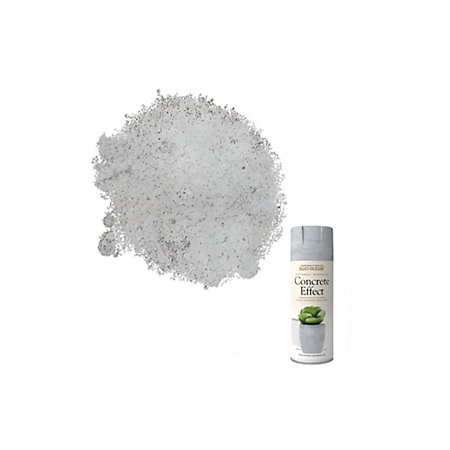 Rust oleum natural effects concrete textured effect matt for How to clean off spray paint on concrete