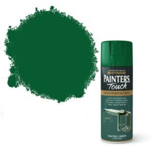 View Rust-Oleum Painter's Touch Multipurpose Racing Green Gloss Spray Paint 400ml details