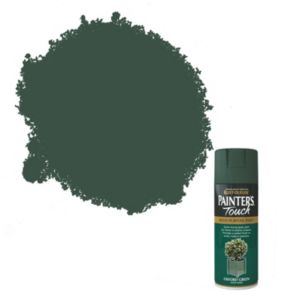 View Rust-Oleum Painter's Touch Multipurpose Oxford Green Satin Spray Paint 400ml details