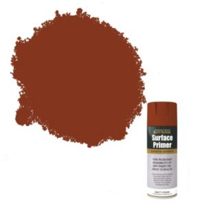 View Rust-Oleum Red Matt Primer 400ml Aerosol details