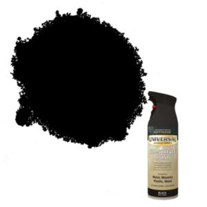 View Rust-Oleum Universal All Surface Black Matt Spray Paint 400ml details