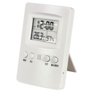 View White Thermometer & Hygrometer (W)70mm (L)110mm details