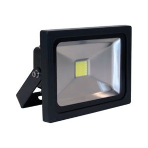 Image of XQ-Lite Black 20W Mains Powered External Flood Light