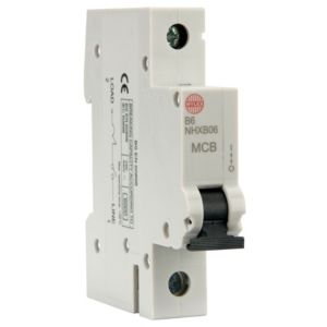 View Wylex 6A Miniature Circuit Breaker (MCB) details