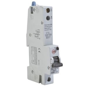 View Wylex 10A Single Pole RCBO details