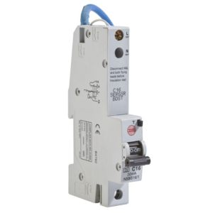 View Wylex 16A Single Pole RCBO details